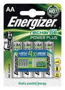Аккумулятор Energizer Rech Power Plus AA 2000 mAh 1.2V, 4шт