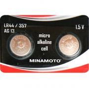 Батарейка MINAMOTO AG13, (LR44) 1.5 В BL10