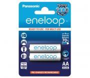 Аккумуляторы Panasonic Eneloop AA 1900 mAh, 2 шт. (BK-3MCCE/2BE)