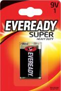 Батарейка солевая Eveready Super крона 9V (1 штука) Eveready