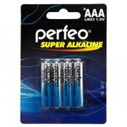 Батарейка AAA - Perfeo LR03/4BL Super Alkaline (4 штуки)