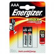 Батарейки AAA Energizer Max LR03, упаковка 2 шт