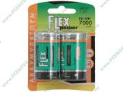 "Flextron Аккумулятор Flexpower ""NMH-HR20-7000-B2"" 1.2B 7000мАч Ni-MH D..."