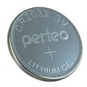 Батарейка Perfeo CR2032/1BL Lithium Cell (1 штука)