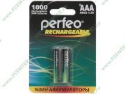 """Аккумулятор Perfeo """"PF AAA1000/2BL"""" 1.2B 1000мАч Ni-MH AAA (2шт./уп.)..."""