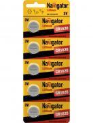 Батарейка CR1620 - Navigator 94 780 CR-1620-5BL (5 штук)