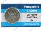 Батарейка Panasonic 3.0B CR2016 (1шт./уп.) (ret)
