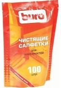 Салфетки чистящие для поверхностей Buro BU-Zsurface, 100 шт