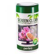 Салфетки влажные Perfeo Screen Clean для очистки ЖК-экрана в тубе...