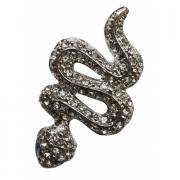 Наклейка для телефона Partner Змея серебристая