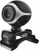 Trust Exis Webcam, Silver Black web-камера