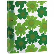 """Папка на кольцах """"Comix"""", цвет: зеленый"""
