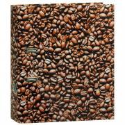 """Папка-регистратор Index """"Кофе"""", ширина корешка 80 мм, цвет: коричневый"""