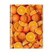 папка Herlitz с резинками апельсин