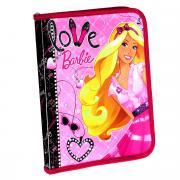 """Папка для тетрадей """"Barbie"""", на молнии. Формат A5"""