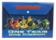 Transformers Prime Пластиковая папка-конверт с застежкой Transformers...