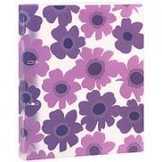 """Папка на кольцах """"Comix"""", цвет: фиолетовый"""