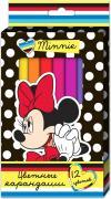 Disney Набор цветных карандашей Минни 12 шт