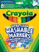 Crayola Набор смываемых фломастеров Супер чисто 8 шт