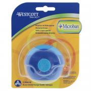 """Точилка """"Westcott, с антибактериальным покрытием, цвет: синий, голубой"""
