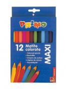 Цветные карандаши деревянные MAXI 12 цветов