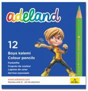 Adel Набор цветных карандашей Adeland 12 шт 211-2325-100