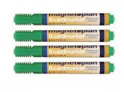 """Набор маркеров """"Magnetoplan"""", цвет: зеленый, 4 шт. 1228105"""