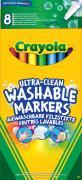Crayola Набор фломастеров Супер чисто 8 шт