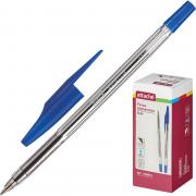 Ручка шариковая Attache Slim синяя (толщина линии 0.5мм)