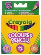 Crayola Набор цветных карандашей 12 шт