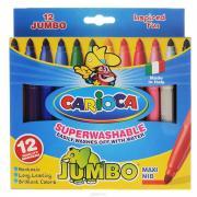 """Набор фломастеров """"Carioca Jumbo"""", 12 цветов"""