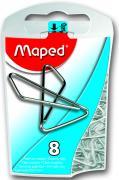 """Скрепки-бабочки """"Maped"""", 8 шт"""