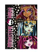 Блокнот A5 Monster high-1-60 листов,спираль,клетка 85115