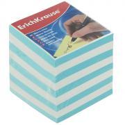 """Бумага для заметок """"Erich Krause"""", цвет: голубой, белый, 9 см х 9 см х..."""
