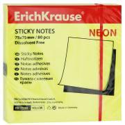 """Бумага для заметок """"Erich Krause"""", с липким слоем, цвет: неоновый..."""