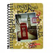 Herlitz Блокнот City Trips London 200 листов в клетку