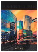 Listoff Книга для записей Небоскребы 100 листов в клетку
