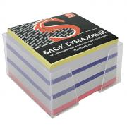 """Бумага для записей многоцветная """"Sponsor"""", в подставке, 90x90x50"""