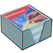 """Бумага для заметок """"Erich Krause"""", в боксе, цвет: голубой, белый, 9 см..."""