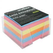 """Бумага для записей многоцветная """"Index"""", в подставке, 90x90x50"""