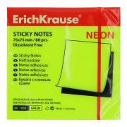 """Бумага для заметок """"Erich Krause"""", с клеевым краем, цвет: неоновый..."""