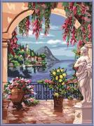 Ravensburger Раскрашивание по номерам Итальянский пейзаж