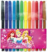 Princess Набор цветных фломастеров 12 шт PRAB-US1-1M-12