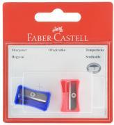 Faber-Castell Точилка цвет синий розовый 2 шт