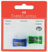 Faber-Castell Точилка цвет синий зеленый 2 шт