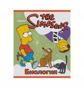 Тетрадь Proff Биология. серия The Simpsons