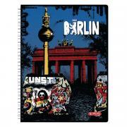 Herlitz Тетрадь City Trips Berlin 70 листов в клетку формат A4
