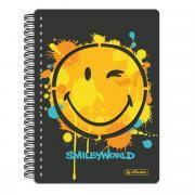 Herlitz Блокнот Smiley World 100 листов в клетку формат A5