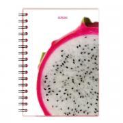 Herlitz Тетрадь Dragon Fruit 100 листов в клетку формат A5