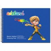 Adel Альбом для рисования Adeland 434-5502-500, 35х25см, 15 листов, 2...